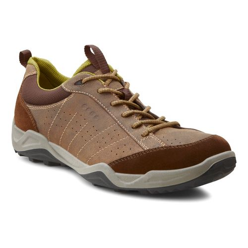 Mens Ecco USA Sierra II Casual Shoe - Dark Clay/Cocoa Brown 40