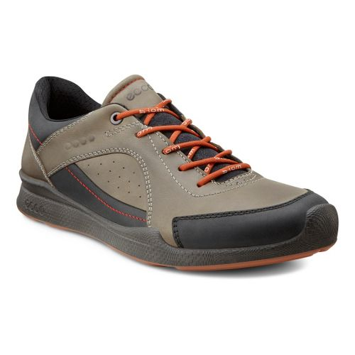 Mens Ecco USA Biom Hybrid Walk Walking Shoe - Black/Tarmac 40