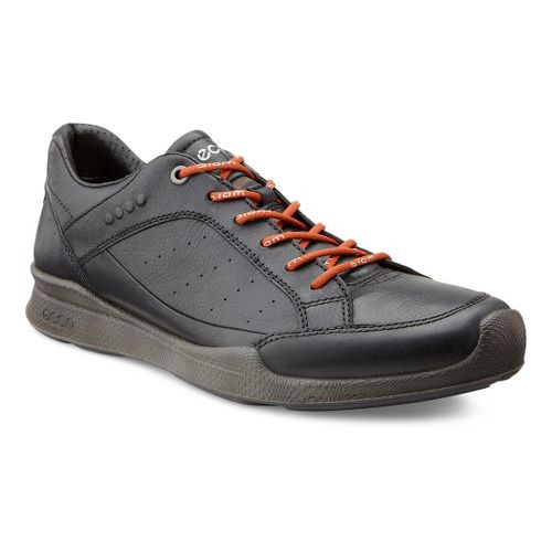 Mens Ecco USA Biom Hybrid Walk Low Walking Shoe - Black/Picante 40