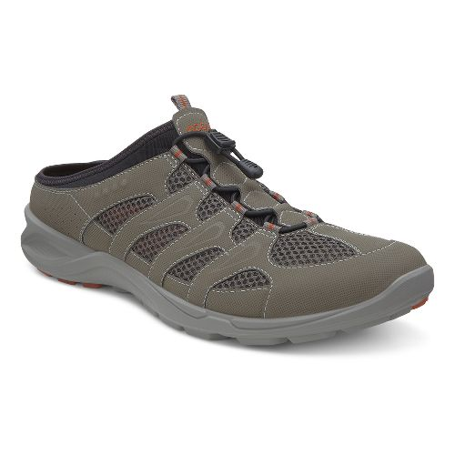Mens Ecco USA Terracruise Slide Cross Training Shoe - Warm Grey/Dark Clay 40