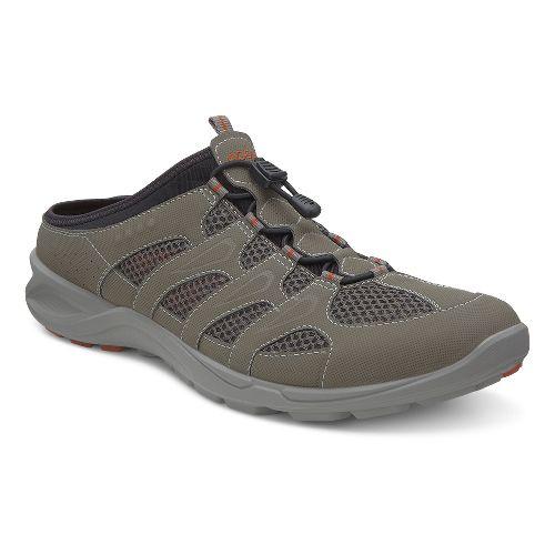 Mens Ecco USA Terracruise Slide Cross Training Shoe - Warm Grey/Dark Clay 42