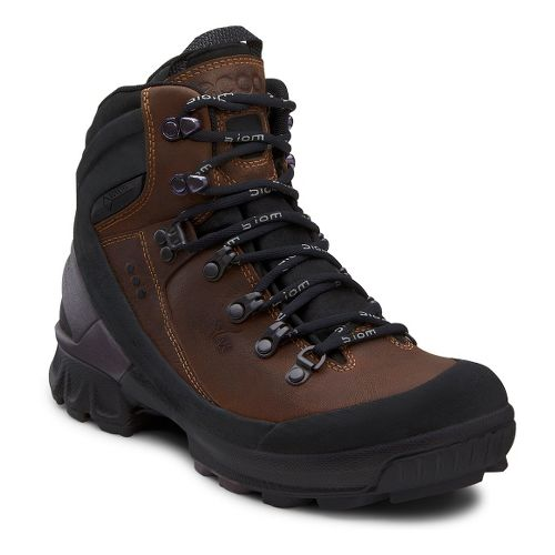 Womens Ecco USA Biom Hike GTX Hiking Shoe - Black/Camel 37