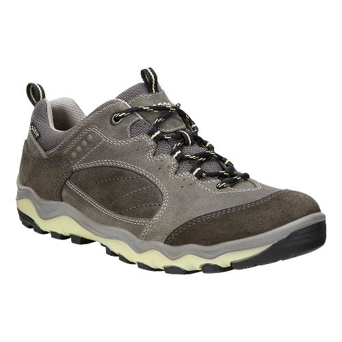 Womens Ecco Ulterra Lo GTX Hiking Shoe - Dark Shadow/Popcorn 41