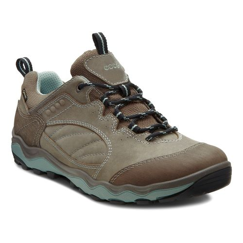 Womens Ecco USA Ulterra Lo GTX Hiking Shoe - Warm Grey/Sage 40