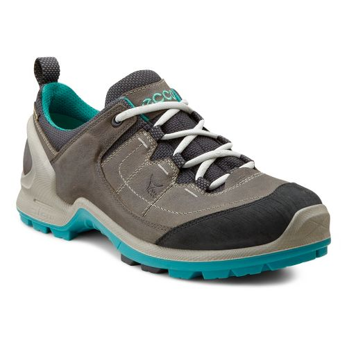 Womens Ecco USA Biom Terrain Lo GTX Hiking Shoe - Black/Dark Shadow 36