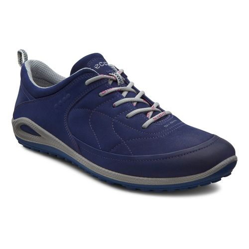 Womens Ecco USA Biom Grip Lite Casual Shoe - Midnight/Midnight 38