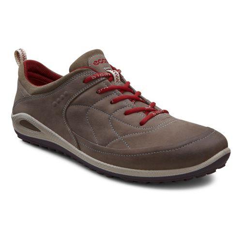 Womens Ecco USA Biom Grip Lite Casual Shoe - Warm Grey/Warm Grey 36