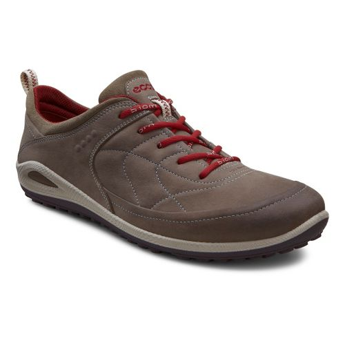 Womens Ecco USA Biom Grip Lite Casual Shoe - Warm Grey/Warm Grey 37