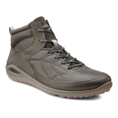 Womens Ecco USA Biom Grip Lite HI Casual Shoe - Dark Shadow/Dark Shadow 37
