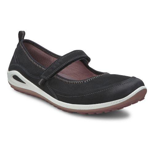 Womens Ecco USA Biom Grip Lite MJ Casual Shoe - Black/Woodrose 35