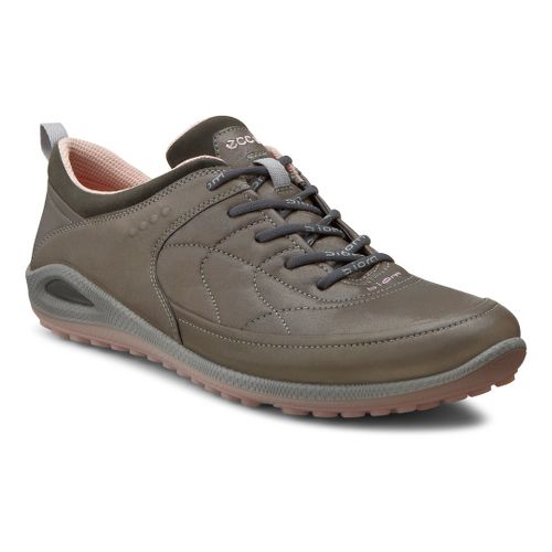 Womens Ecco USA Biom Grip Lite Plus Casual Shoe - Dark Shadow/Dark Shadow 38