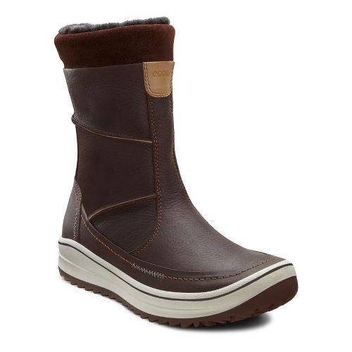 Womens Ecco USA Trace Plus Casual Shoe - Coffee/Coffee 37