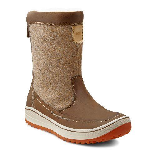 Womens Ecco USA Trace Zip Casual Shoe - Birch/Birch 39