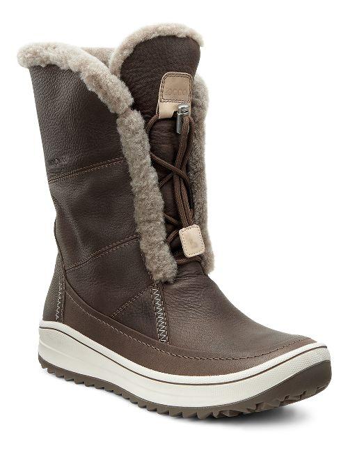 Womens Ecco Trace Tie Casual Shoe - Birch 42