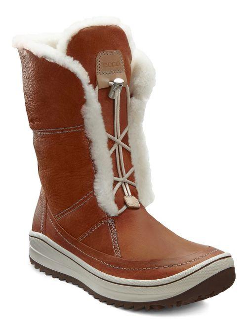 Womens Ecco Trace Tie Casual Shoe - Amber 40