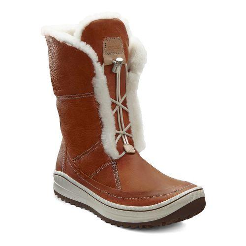 Womens Ecco Trace Tie Casual Shoe - Amber 41