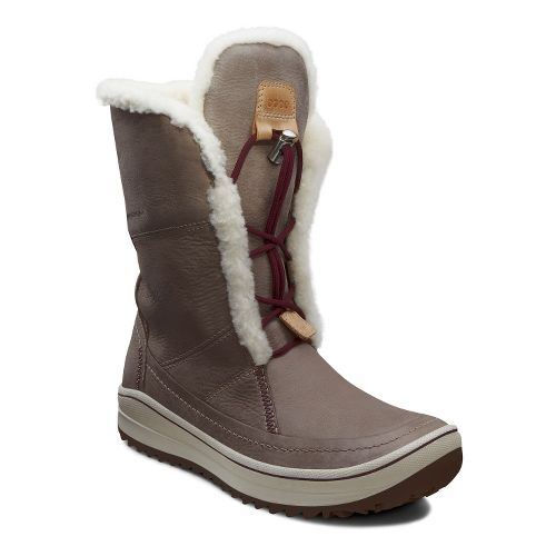 Womens Ecco USA Trace Tie Casual Shoe - Moonrock 42