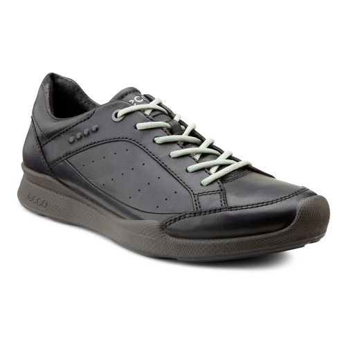 Womens Ecco USA Biom Hybrid Walk Low Walking Shoe - Black/Ice Flower 40