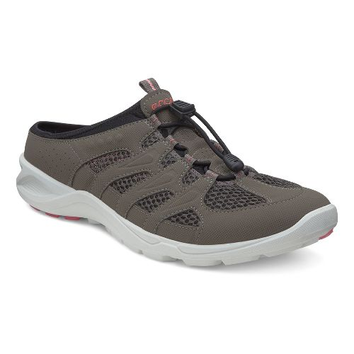 Womens Ecco USA Terracruise Slide Cross Training Shoe - Warm Grey/Dark Clay 39