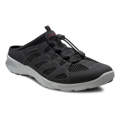 Womens Ecco USA Terracruise Slide Cross Training Shoe - Black/Black 36