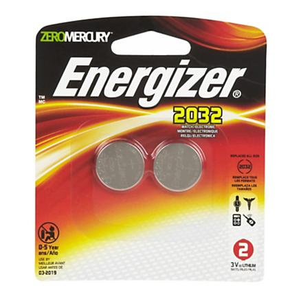 Energizer 2032 Batteries 2 pk Electronics