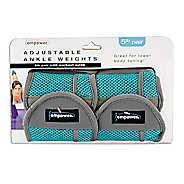 Empower Adjustable Ankle Weights 5lb Pair Fitness Equipment