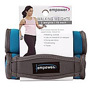 Empower Soft Walking Weights 2lb Pair Fitness Equipment