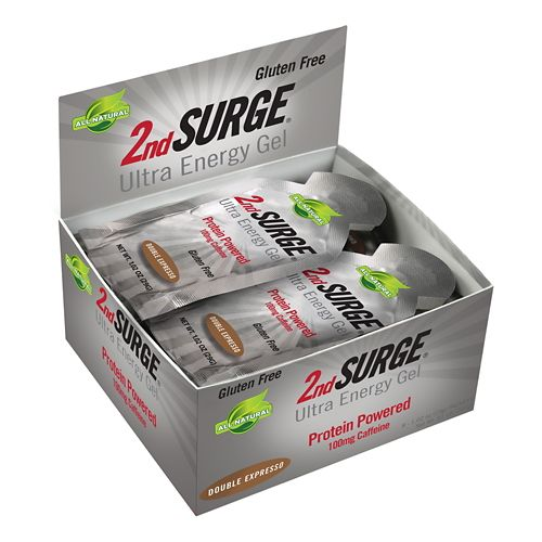 Pacific Health Labs 2nd Surge Ultra Energy Gel 8 pack Nutrition - null