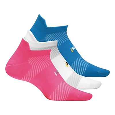 Feetures High Performance Ultra Light No Show Tab 3 pack Socks