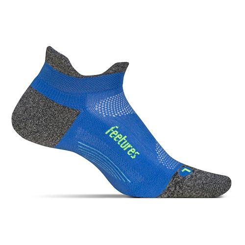 Feetures Elite Light Cushion No Show Tab Socks - True Blue M