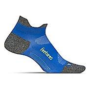 Feetures Elite Ultra Light No Show Tab Socks - True Blue M