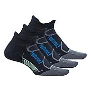 Feetures Elite Light Cushion No Show Tab 3 pack Socks