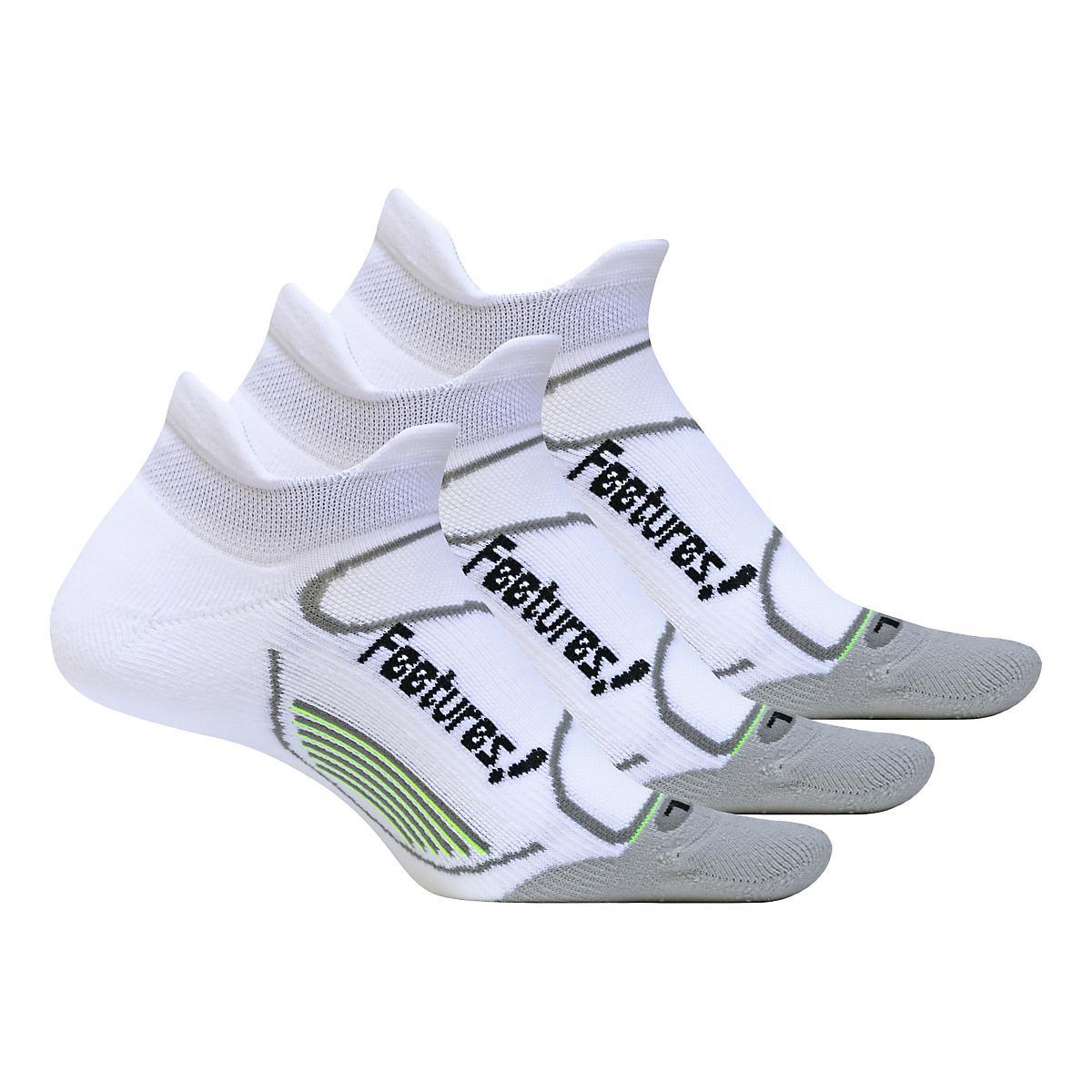 Feetures�Elite Light Cushion No Show Tab 3 pack