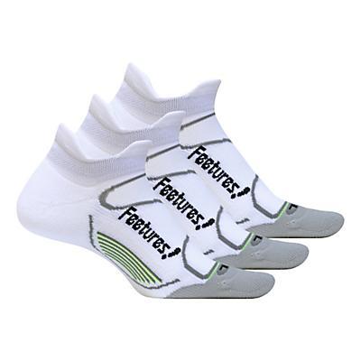 Feetures Elite Light Cushion No Show Tab 3 pack Socks