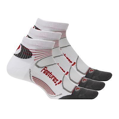 Feetures Elite Light Cushion Low Cut 3 pack Socks