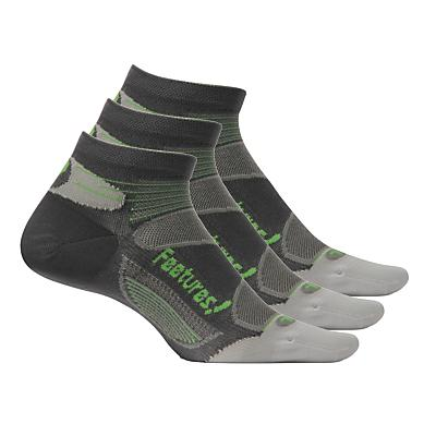 Feetures Elite Ultra Light Low Cut 3 pack Socks