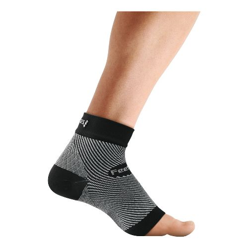 Feetures Plantar Fasciitis Sleeve Single Injury Recovery - Black S