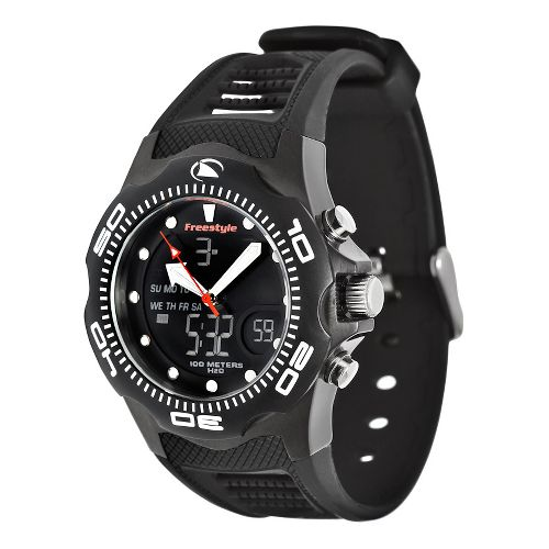 Mens Freestyle USA Shark X 2.0 Watches - Black/Black