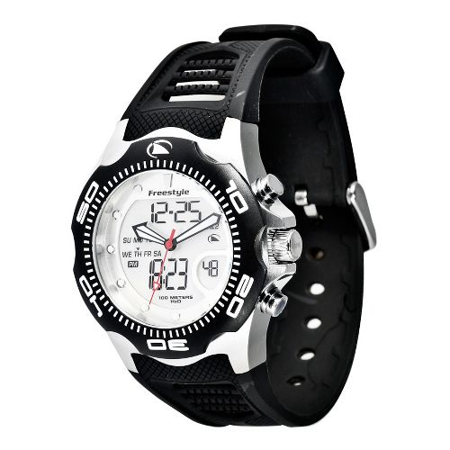 Mens Freestyle USA Shark X 2.0 Watches - Black/Silver