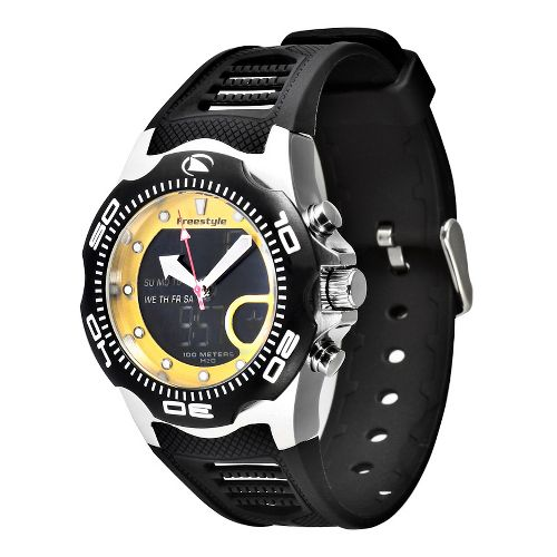Mens Freestyle USA Shark X 2.0 Watches - Black/Yellow