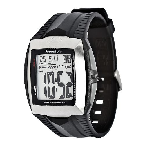 Mens Freestyle USA Shark Buzz Watches - Silver/Black