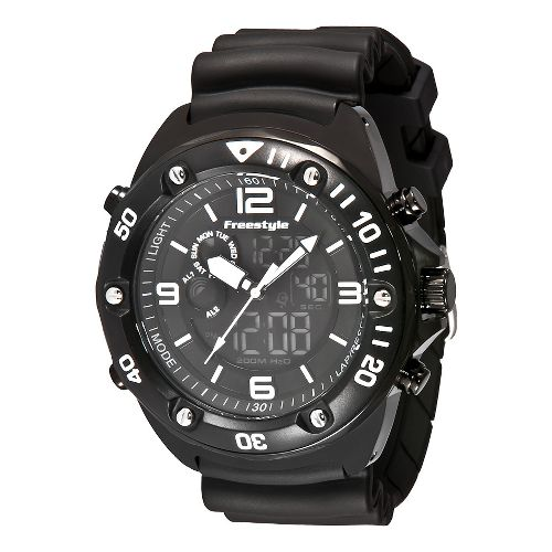 Mens Freestyle USA Precision 2.0 Watches - Black/Black