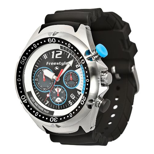 Mens Freestyle USA Hammerhead XL Watches - Stainless Steel/Black