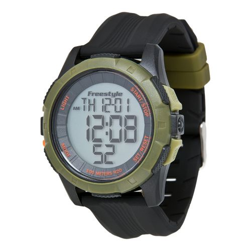 Mens Freestyle USA Kampus XL Watches - Green/Black