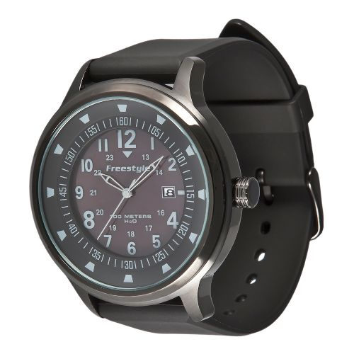 Mens Freestyle USA Ranger XL Watches - Black/Grey