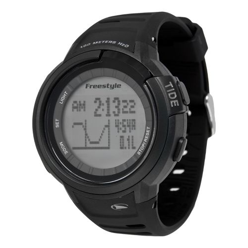 Mens Freestyle USA Mariner Tide Watches - Black