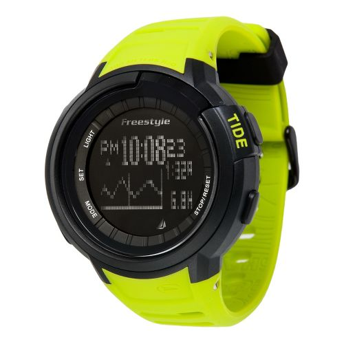 Mens Freestyle USA Mariner Tide Watches - Yellow/Black
