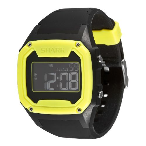 Mens Freestyle USA Killer Shark Watches - Black/Yellow