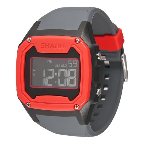 Mens Freestyle USA Killer Shark Watches - Red/Grey