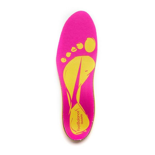 Footbalance QuickFit - Narrow Width Insoles - Pink 48